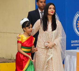 Why Aishwarya can't stop smiling