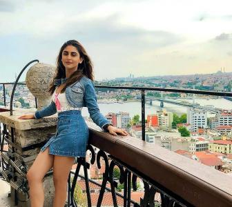 PIX: TV actress Krystle D'Souza's Turkey vacay