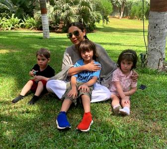 AbRam's day out with Roohi and Yash