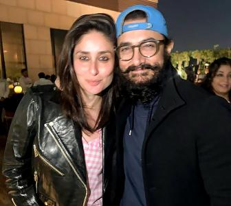 PIX: Kareena parties with Aamir