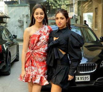 PIX: Ananya-Bhumi step out