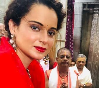 PIX: Kangana celebrates Janmashtami