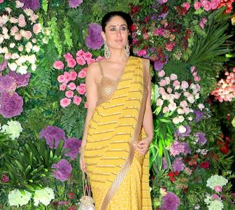 PIX: Kareena attends a wedding with the Ambanis