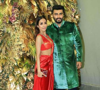 Video: Malaika-Arjun get spotted at a wedding