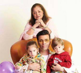PIX: Karan Johar's twins turn 3!