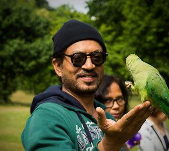 Irrfan: 'I'm happy to be back'