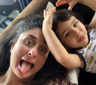 This is what Kareena's day with Taimur is like!