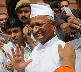 Lokpal Bill row: Hazare to meet Sonia today