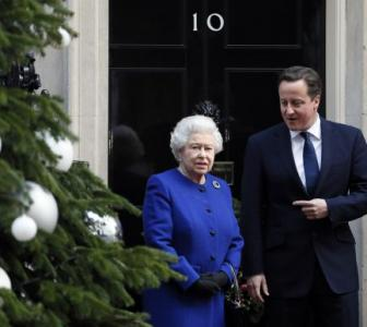 Landmark day: Queen Elizabeth attends UK cabinet meet