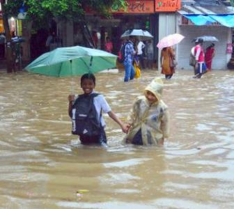 PHOTOS: Torrential rains leave parts of Mumbai underwater