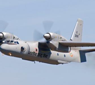 Missing IAF AN 32 flight was not fitted with underwater locator