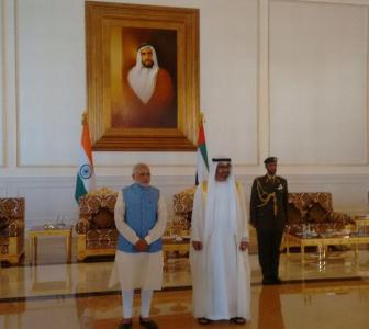 PM Modi arrives in UAE; to discuss terror, trade with top leaders