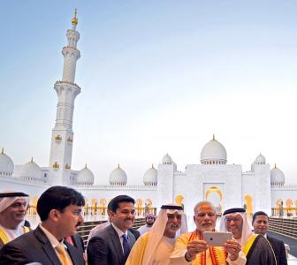 PHOTOS: How Modi is spending time in UAE