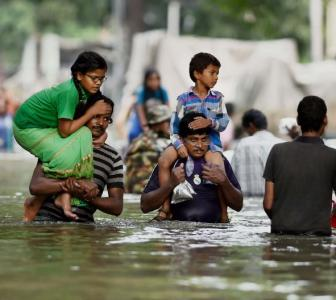 In Chennai, rains stop, but problems continue to persist