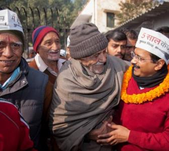 'Kejriwal is poor, he will look after the poor'