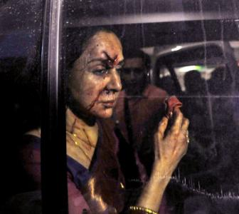 Hema Malini's driver arrested after accident kills 4-year-old girl