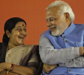 Why Modi stood by an embattled Sushma Swaraj