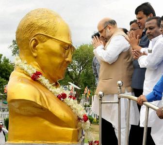 'The BJP will pollute Ambedkar'