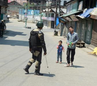 Restrictions imposed in Srinagar, north Kashmir