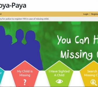 A website to locate India's missing children