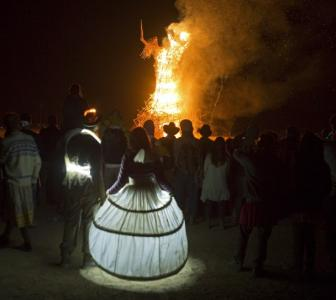 PHOTOS: Israel's Burning Man damages ancient archaeological site