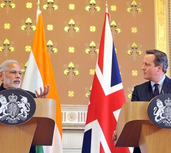 In UK, Modi opens up on intolerance; says it's unacceptable