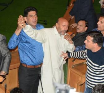 Why BJP MLAs beat up this MLA in the J&K assembly