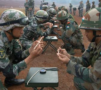 China's defence spend: $146 bn. India's: $40 bn!