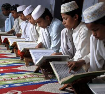 The man who wants madrassas to fly the tricolour