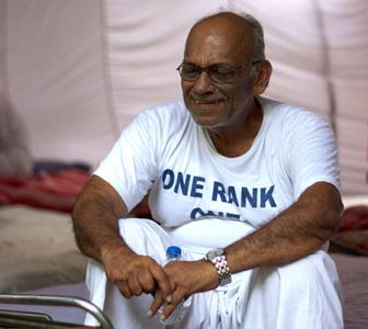 'Don't call OROP stir an agitation; this is our satyagraha'