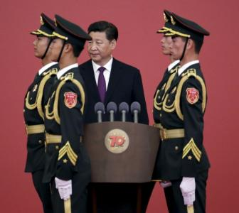 China wants to show off its military power