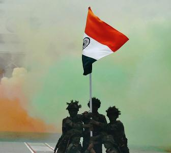 The soldier has done more to unite India than netas