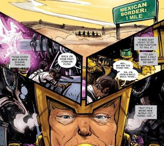 Marvel turns Donald Trump into a supervillain!