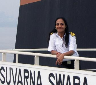 Captain Radhika Menon's bravery is inspiring