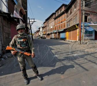 Curfew in Srinagar year after Article 370 scrapped