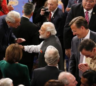 9 standing ovations and a sea of applause: How Modi was received at the Capitol