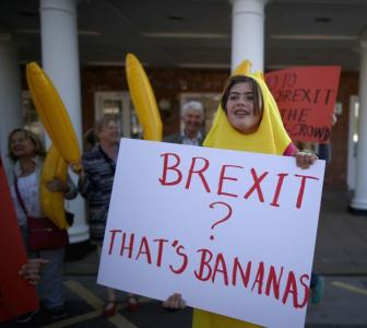 'Brexit' beats 'Trumpism' to be word of the year