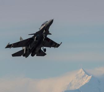 PHOTOS: IAF's top guns brave extreme Alaska