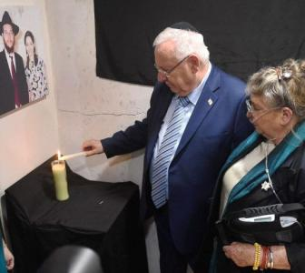 Visit to Chabad House was must, says Israel president