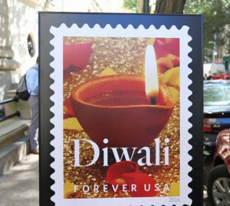 Diwali finally puts its 'stamp' on America