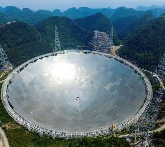 World's largest radio telescope activated