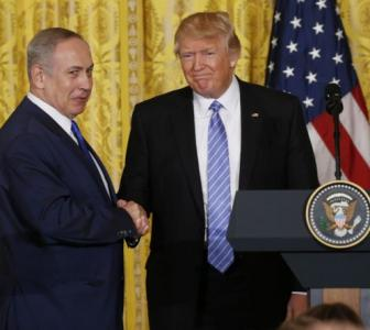Trump debunking two-state solution to Israel-Palestine dispute?