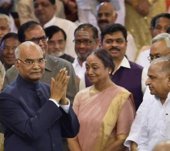 PHOTOS: Kovind sworn-in as India's 14th President