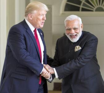 Modi, Trump discuss Ladakh standoff, unrest in US