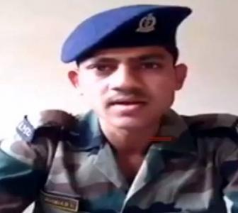 Another jawan posts video, says soldiers treated like servants