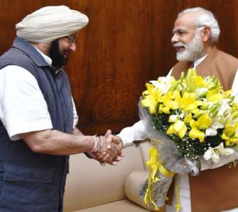 Amarinder seeks Modi's nod to sell electricity to Pak