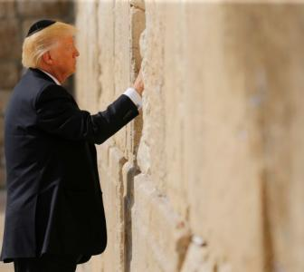 Trump in Israel, asks Iran to stop supporting 'terrorists'