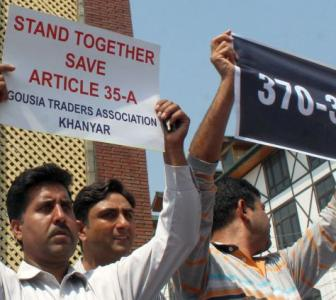 Why Kashmiris are agitating in favour of Article 35A