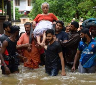 What caused the rain havoc in Kerala