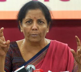 The many moods of Nirmala Sitharaman